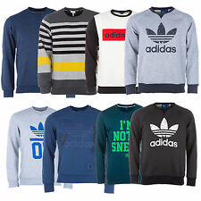 adidas Crew Neck Cotton Blend Casual Shirts & Tops for Men