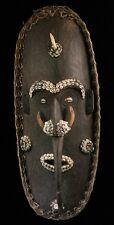 Masque d'esprit papou, art tribal du sépik, Maramba, papouasie nouvelle guinée