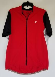 PEARL IZUMI Red Cycling Jersey Mens Size XXL Short Sleeve Full Zip Select Attack