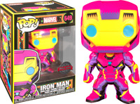 IRON MAN BLACKLIGHT LIMITED EXCLUSIVE FUNKO POP MARVEL COMICS #649 PRE ORDER