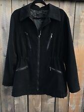 Giorgio Armani Black Label Women's Coat Jacket Italian 46 EU