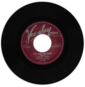 Elmore James Cry For Me Baby/Take Me Where You Go R&B Reissue Listen