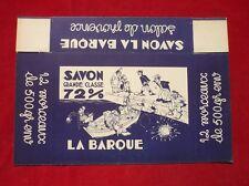 SAVON DE MARSEILLE LA BARQUE  :  BOITE CARTON PAR DUBOUT ?