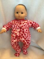 """15/"""" Bitty Baby Purple satin Easter egg sleeper pajamas pjs girl Doll Clothes fit"""