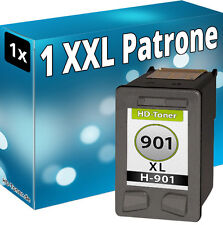TINTE DRUCKER PATRONEN für HP 901 XL BK OFFICEJET J4500 J4524 J4535 J4540 J4550