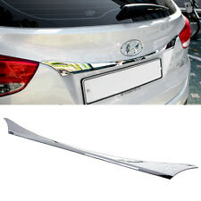 Chrome Rear Trunk Garnish Molding Trim For HYUNDAI 2010-2015 Tucson ix / ix35