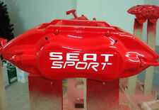 SEAT Sport Brake Caliper Calliper Decals Stickers Ibiza Cupra Leon ALL OPTIONS