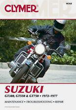 Clymer Repair Service Shop Manual Vintage Suzuki GT380 GT550 GT750 1972-1977
