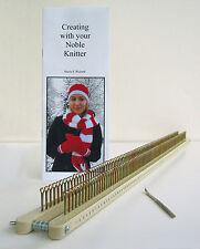 Noble Knitter 100: Adj. Knitting Board, Loom, Rake