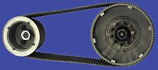 "1936 - 1984 BIG TWIN 3"" OPEN PRIMARY BELT DRIVE 4-speed"