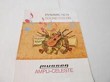 VINTAGE MUSICAL INSTRUMENT CATALOG #10125 - LUDWIG MUSSER AMPLI-CELESTE KEYBOARD