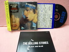 JAPAN MINI LP CD THE ROLLING STONES BLACK AND BLUE VJCP-27005 OBI INSERT OUTER