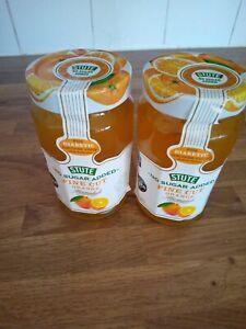 Stute Fine Cut Orange Marmalade No Added Sugar 430 g (Pack of 2) free P & P