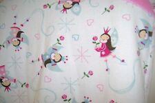 Hanna Andersson pink & light blue fairies organic cotton pajama set-140    10 US
