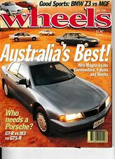 WHEELS magazine June 1996 Mitsubishi Magna BMW Z3 MGF VVC Honda Legend Diablo VT