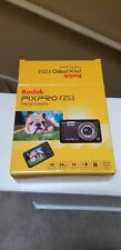 Kodak Fz53-bl Point and Shoot Digital Camera With 2.7 Lcd Blue. New. Free Ship