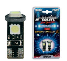 LUCI di POSIZIONE LED w5w t10 by SIMONI RACING NO ANOMALIA NO ERROR