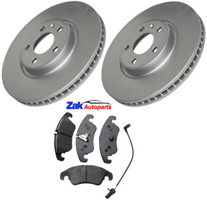 FOR AUDI A6 (C7) 2.0 TDi, 2.0 TFSi 2012-2016 FRONT BRAKE DISCS AND PADS SET NEW