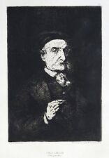 RIBOT, Théodule — Émile Cardon —[1876] — Eau-forte originale