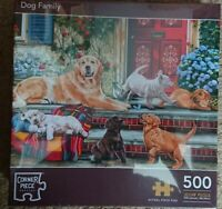The Works Dog Family Jigsaw 500 Piece Puzzle