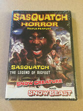 Sasquatch Horror Collection Triple Feature Retromedia DVD Sealed OOP Rare