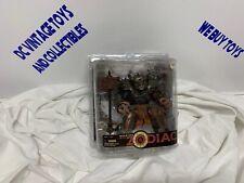 Taurus MCFARLANE TOYS Spawn Warriors of the Zodiac MOC Damaged Package