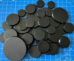25mm 32mm 40mm 50mm 60mm Round Bases (you choose) Warhammer 40k AoS