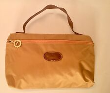 Longchamp Gold Make up Travel Toiletry Bag
