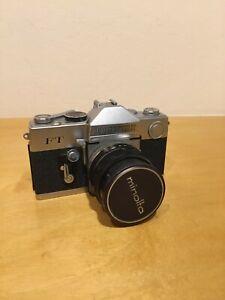 Vintage PETRI FT 35mm Film SLR Camera 55mm lens AS IS. VIEW DESCRIPTION