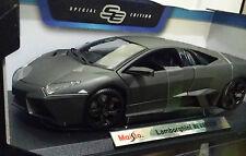 Diecast 1:18 Lamborghini REVENTON Carbon Gray RARE!! Maisto Cars Toys Kids NEW