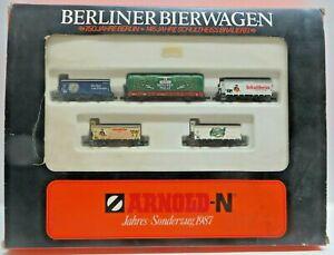 Arnold Escala N 0156 Jahressonderzug 1987 Vagón 150 J. Berlín Usado en Emb.orig.