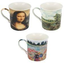 Porcelana Fina Tazas LEONARDO COLLECTION Claude John Leonardo a Varios Artistas