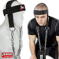 Head Harness Neck Exercise GYM Training Dipping Weight Lifting Chain Exercise