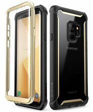 Samsung Galaxy S9 Rugged Clear Bumper Case With Built-in Screen Protector Cover