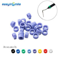 25pcs EASYINSMILE Dental Hygienist Instrument Silicone Color Code Rings ∅ 6.5MM