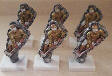Lot of 6 Resin Hockey Trophy Only $4.00 each Including Shipping (B7)