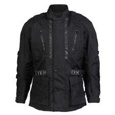 Blousons noir avec doublure thermique epaule pour motocyclette