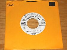 "PROMO MOVIE 45 RPM - MICHEL LEGRAND - COLUMBIA 40751 - ""LOVERS AND LOLIPOPS"""