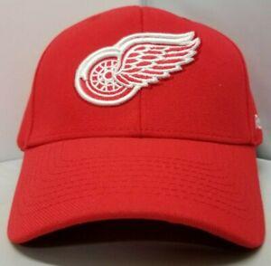 Detroit Red Wings NHL Reebok Adult Unisex Red Curved Brim Cap/Hat OSFM