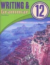 BJU Press  Writing and Grammar 12 Student Worktext  3 Ed - 283580