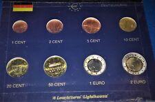 ALLEMAGNE  2006 F : SERIE 8 MONNAIES 1 CENT à 2 € - UNC