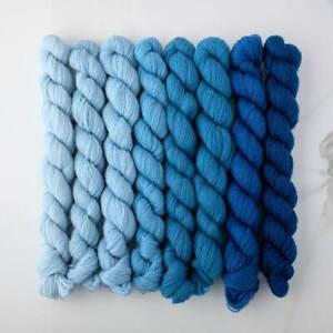 Appletons Crewel Wool Yarn – Sky Blue 561-568 - 180m Full Hanks