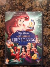 The Little Mermaid - Ariel's Beginning (DVD, 2008) Authentic US Release