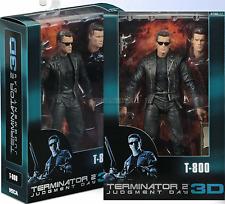 Terminator 2 Arnold Schwarzenegger Action Figure T-800 25th Anniversary 3D NECA