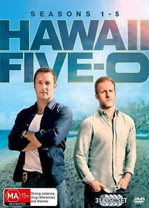 Hawaii Five-O Hawaii five-0 Season 1 2 3 4 5 DVD Box Set R4