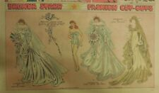 Brenda Starr Sunday with Large Uncut Paper Dolls from 7/26/1942 Full Size Page