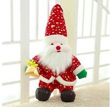 50CM SANTA CLAUS FATHER CHRISTMAS XMAS SOFT PLUSH BEAR DOLL STUFFED ANIMALS TOY