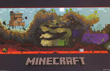 JINX MINECRAFT VIDEO GAME UNDERGROUND WORLD POSTER NEW FREE SHIPPING