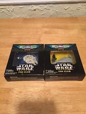 Galoob Micro Machines Star Wars Fan Club Vehicle Set Of 2, Sealed, 1994!