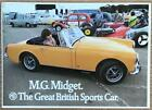 MG MIDGET Sports Car Sales Brochure 1972 #2864